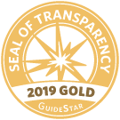GuideStar Gold Seal of Transparency 2019